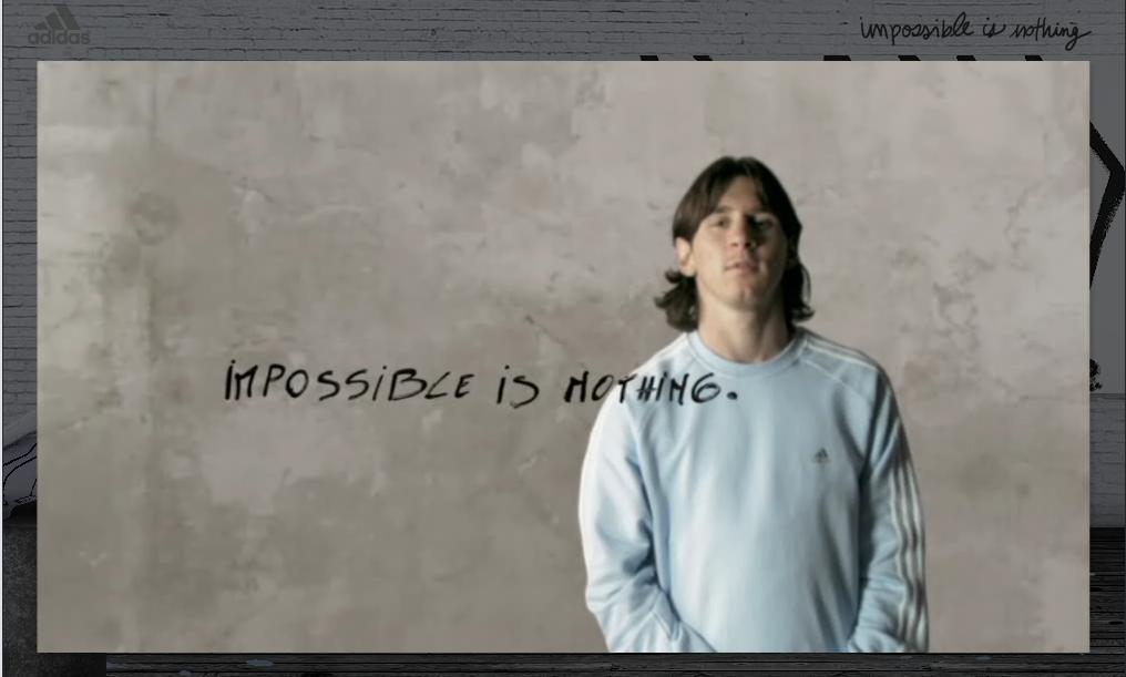 Lionel Messi Wallpaper – Impossible is Nothing | Fear of Bliss