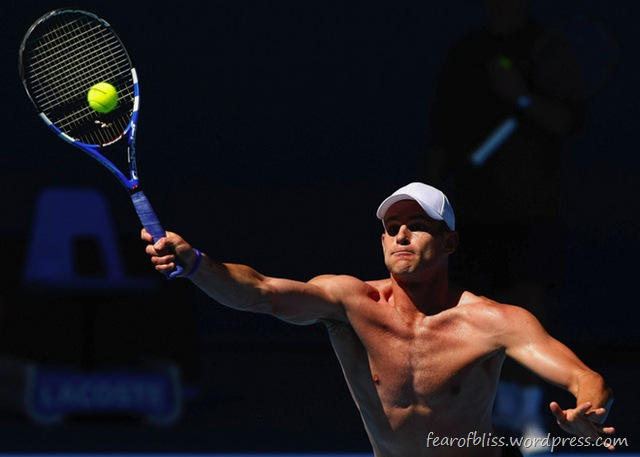 andy roddick shirtless. Andy Roddick SHIRTLESS