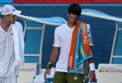 TENNIS-OPEN-AUS-DJOKOVIC
