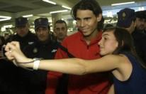 APTOPIX Spain Tennis Nadal