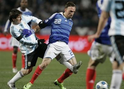 FRANCE ARGENTINA SOCCER