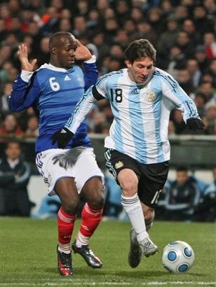 FRANCE SOCCER ARGENTINA