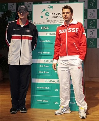 Switzerland US Davis Cup Tennis