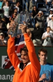 TEN-INDIAN WELLS-NADAL-TROPHY