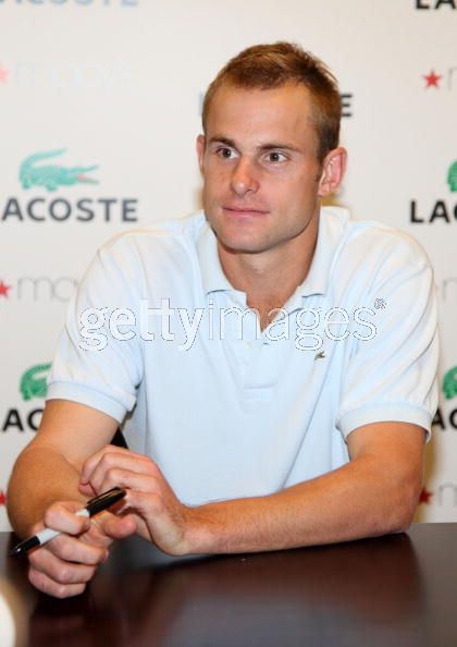 andy murray tennis player. Tennis player Andy Roddick had