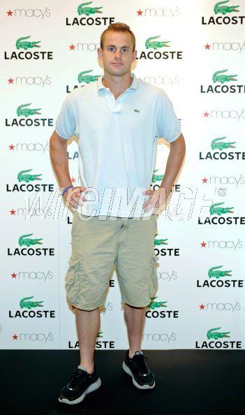 andy roddick haircut. Andy Roddick @ Lacoste Fashion