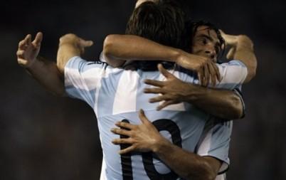 APTOPIX Argentina Venezuela Wcup Soccer
