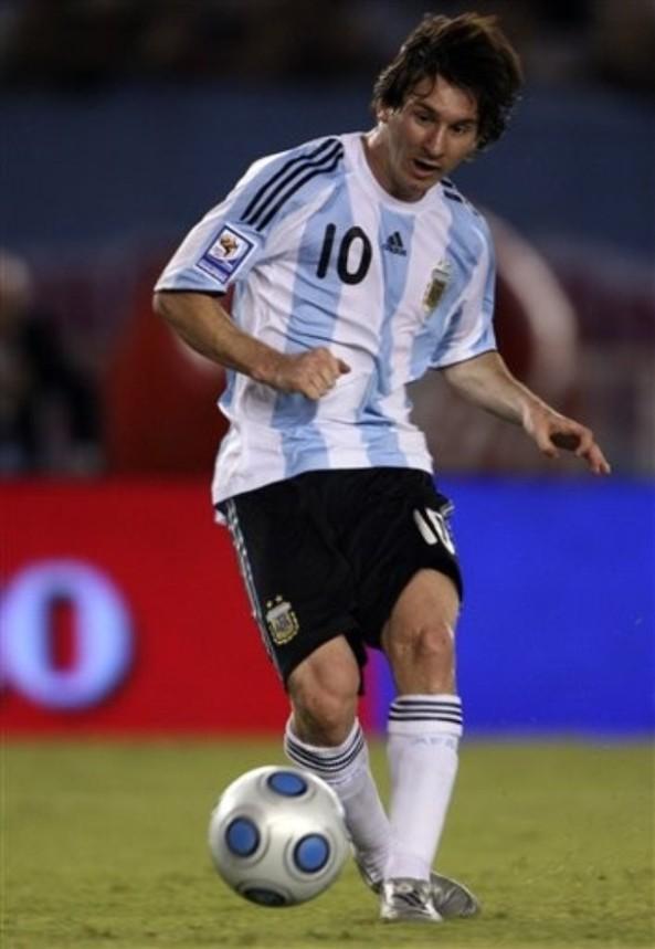 Argentina Venezuela WCup Soccer