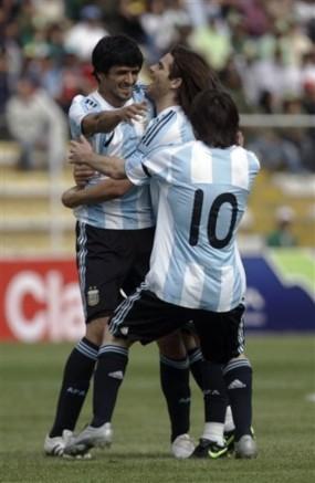 Bolivia Argentina Wcup Soccer