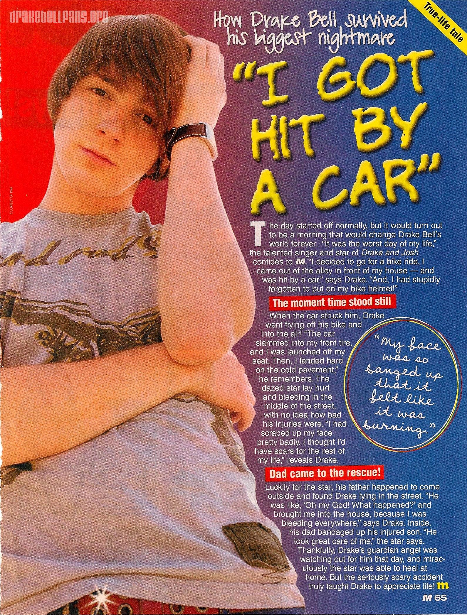 Drake Bell Car Accident