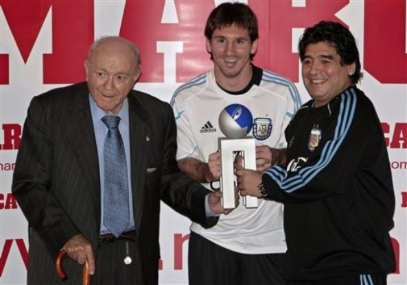 Spain Soccer Di Stefano Trophy