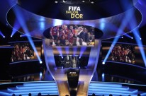 A general view at the start of the FIFA