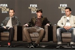 Switzerland Soccer FIFA Ballon D'or 2010