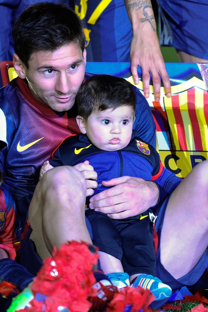 Leo & Thiago Messi Celebrate La Liga | Fear of Bliss