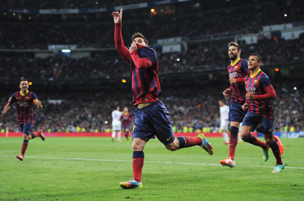 Messi Hat Trick vs Real Madrid